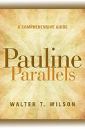 Pauline Parallels Paperback