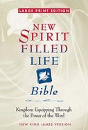 NKJV New Spirit Filled Life Study (Large Print) Bonded Leather