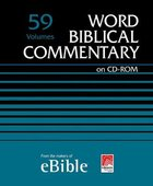 Word Biblical Commentary (Cd-rom)