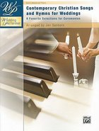 Contemporary Christian Songs and Hymns For Weddings (Music Book)