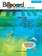 Billboard Top Christian Songs (Music Book) (Easy Piano) Paperback