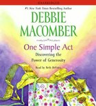 One Simple Act (Unabridged) (5 Cds) CD