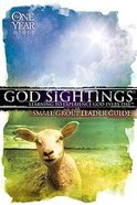 The One Year Bible: God Sightings (Small Group Leader Guide) Paperback