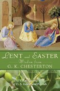 Lent and Easter Wisdom From G K Chesterton Paperback