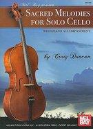Sacred Heart Melodies For Solo Cello Music Book (Piano Accompaniment)