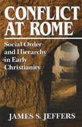 Conflict At Rome Paperback