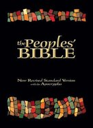 The NRSV People's Bible (With Apocrypha) Hardback