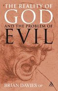 Reality of God and the Problem of Evil Paperback