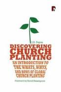 Discovering Church Planting Paperback