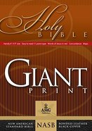 NASB Giant Print Handy-Reference Bible Black Bonded Leather