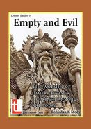 Empty and Evil: The Worship of Other Faiths Paperback