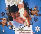 10 Commandments Movie Puzzle Book (Epic Stories Of The Bible Series)