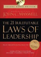 21 Irrefutable Laws of Leadership Deluxe Audio Edition (Abridged) CD