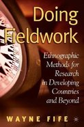 Doing Fieldwork Paperback