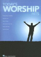 Today's Worship Hits Music Book