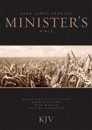 KJV Ministers Bible Black