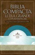 Biblia Compacta Letra Grande Co Referencias Aquamarine (Compact Refernce) Imitation Leather