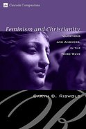 Feminism and Christianity Paperback