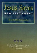 NASB Jesus Saves New Testament