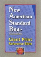 NASB Giant Print Reference Bible Black