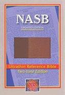 NASB Ultrathin Reference Brown/Light Brown