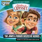 Aio Sampler: Jones and the Parker Detective Agency (Adventures In Odyssey Audio Series) CD