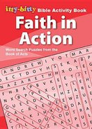 Activity Book Faith in Action Word Search (Itty Bitty Bible Series)