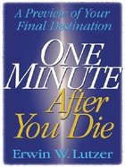 One Minute After You Die (Large Print) Paperback