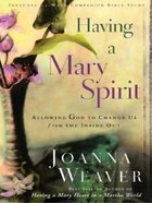 Having a Mary Spirit (Large Print) Paperback