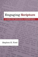 Engaging Scripture