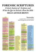Forensic Scriptures Paperback