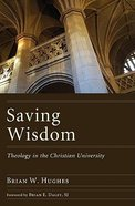 Saving Wisdom Paperback