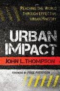 Urban Impact Paperback