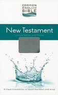 Ceb New Testament With Psalms Blue/Slate Gray Decotone Imitation Leather