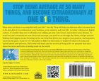 One Big Thing (Unabridged 4cds) CD