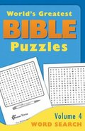 Word Search (#04 in World's Greatest Bible Puzzles Series) Paperback