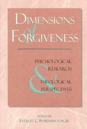 Dimensions of Forgiveness Paperback