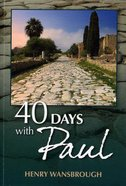 40 Days With Paul Paperback