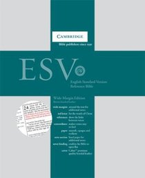 ESV Wide Margin Reference Cambridge Bibles (Red Letter Edition)