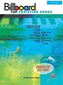 Billboard Top Christian Songs (Music Book) (Easy Piano)