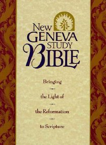 NKJV New Geneva Study Bible, the Black