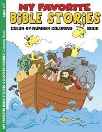 My Favorite Bible Stories (Reproducible) (Warner Press Colouring & Activity Books Series)