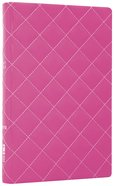 NIV Thinline Bible Quilted Strawberry Cream Duo-Tone (Red Letter Edition) Imitation Leather