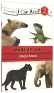 Jungle Beasts (I Can Read!2/made By God Series) Paperback