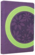 NIV Faithgirlz! Bible Revised Purple/Green (Black Letter Edition) Premium Imitation Leather
