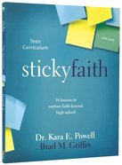 Sticky Faith Teen Curriculum With DVD Paperback