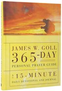 James W Goll 365 Day Personal Prayer Guide Hardback