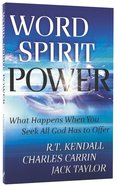 Word Spirit Power Paperback