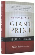 God's Word Personal Size Giant Print Hardcover Hardback