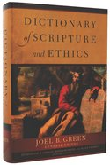Dictionary of Scripture and Ethics Hardback